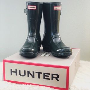 🆕 Hunter 'Short Gloss' Rainboots